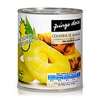 Ananás Em Calda Pingo Doce 825G