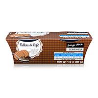 Sobremesa Delicia De Café Pingo Doce 2X80G