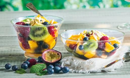 Salada de fruta com Moscatel