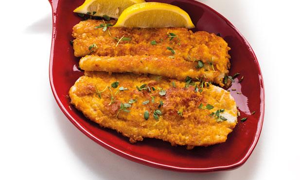 Filetes de peixe-espada com arroz