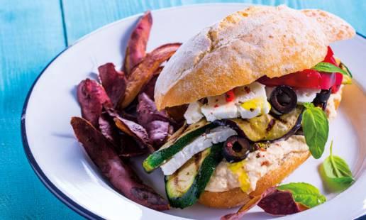 Sanduíche vegetariana