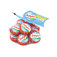 Queijo Mini Babybel Light Rede 12X20Gr