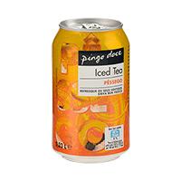 Iced Tea Pêssego Pingo Doce Lata 33Cl
