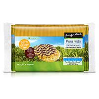 Tortitas Pura Vida Milho Com Chocolate Negro 4X22 6G