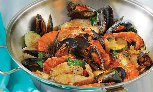 Cataplana Do Mar Receitas Pingo Doce