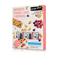 Barra de Frutos Secos Pingo Doce Amendoins, Caju e Arandus 3x35G