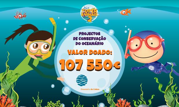 Pingo Doce entrega 107.550€ ao Oceanário de Lisboa