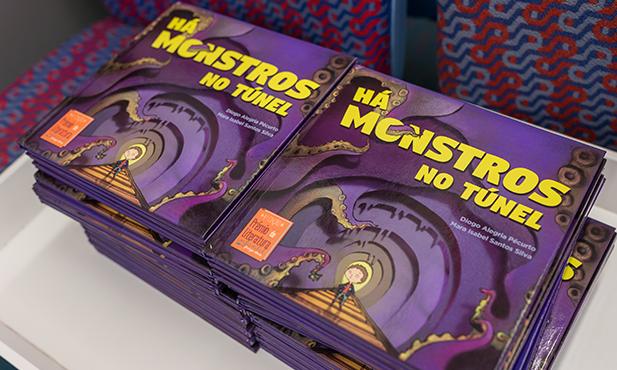 "O livro ""Há monstros no túnel"" já chegou às lojas"