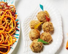 Almôndegas com esparguete