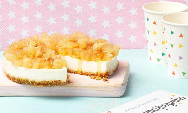 Cheesecake de pêra