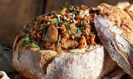Bacalhau no pão