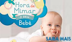 Hora de mimar o seu bebé