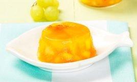 Gelatina com fruta