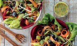 Salada Primavera com salicórnia