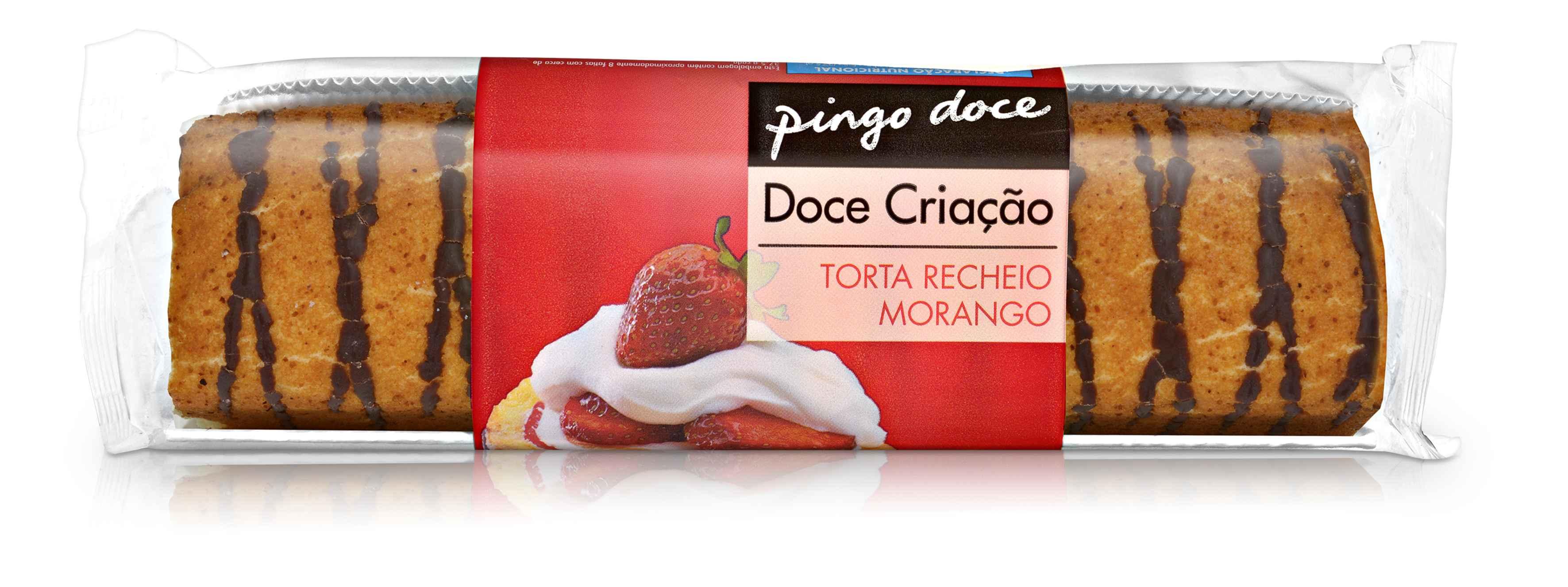 Torta Coberta De Morango 300G