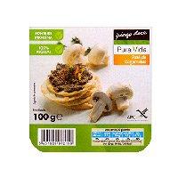 Paté Vegetal De Cogumelos Pura Vida 100G