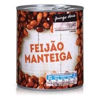 Feijão Pingo Doce Manteiga Lata 820G