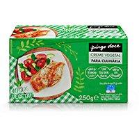 Creme Vegetal Para Culinária Pingo Doce 250G