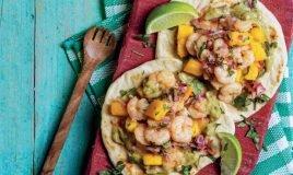 Tacos de camarão
