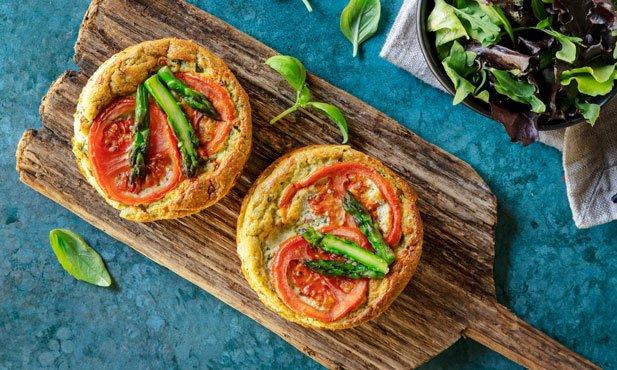 Cheesecake de requeijão e tomate seco