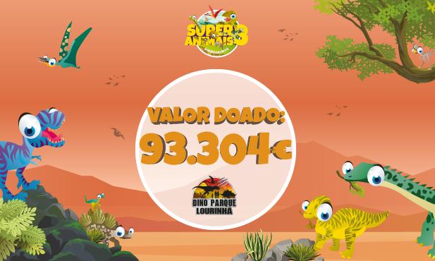 Pingo Doce entrega donativo de 93.304€ ao Dino Parque