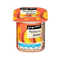 Iogurte Pedaços Pingo Doce Pêssego 125G