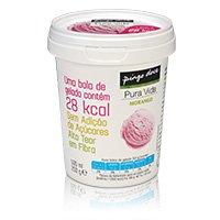 Gelado Sem Açúcar Pura Vida Morango 500Ml