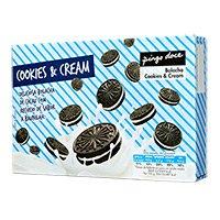 Bolacha Cookies & Cream Pingo Doce 176G