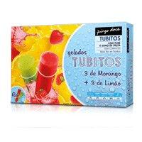 Gelado Tubito Limão & Morango Pingo Doce  6X110Ml