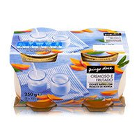 Iogurte Batido com Pedaços de Manga Pingo Doce 2x125g