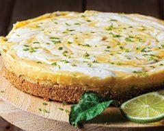 Cheesecake de limão e lima