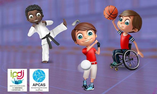 Super Desportos juntos com o IPDJ e a APCAS