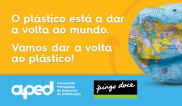 O plástico está a dar a volta ao mundo!