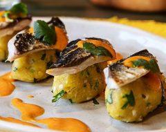 Lombinhos de sardinha com azeite de pimento assado