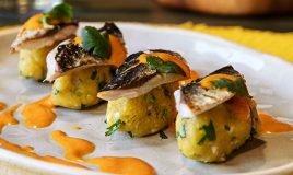 Lombinhos de sardinha azeite de pimento assado