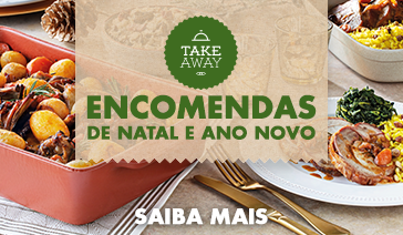 Encomendas de Natal e Ano Novo Take Away