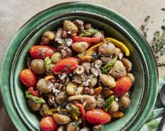 Estufado de legumes com castanhas