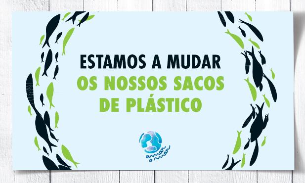 Novo saco com 80% de plástico reciclado pós-consumo