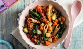 Estufado de legumes com massa