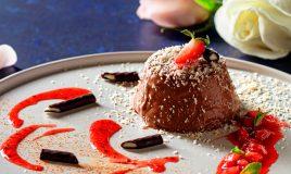 Panacota de chocolate com malagueta