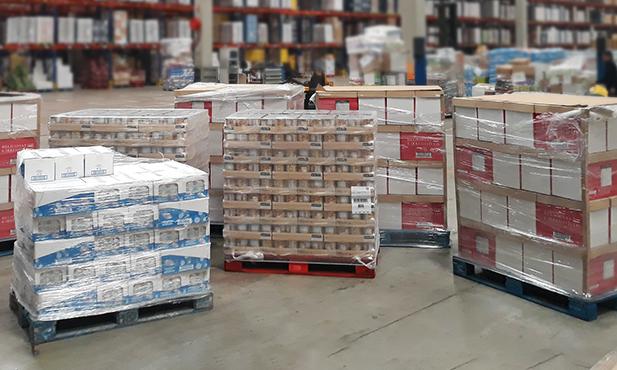5 toneladas de produtos Pingo Doce a caminho de Moçambique