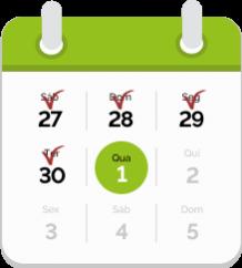 Calendario 1 Maio