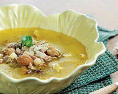 Sopa rica de castanhas