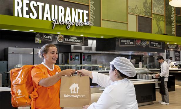 Pingo Doce e Takeaway.com iniciam entrega de refeições | Notícias | Pingo  Doce