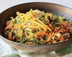 Salada asiática de pepino
