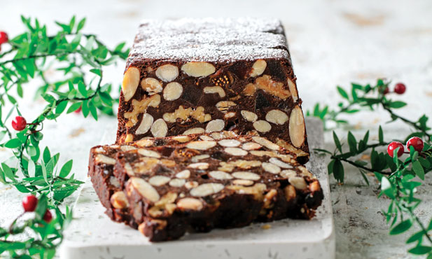 Panforte de chocolate