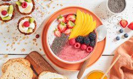 Bowl de frutos vermelhos