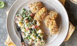 Nuggets de bacalhau fresco
