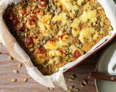 Empadão de quinoa e legumes