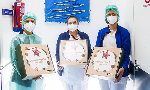 Pingo Doce deseja Feliz Natal a profissionais de saúde